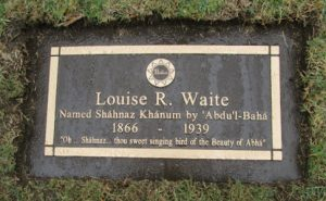 Shahnaz Waite headstone
