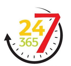24-7-365 logo