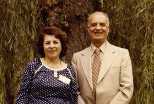 Mr Khadem and his wife Javidukht, 1970s