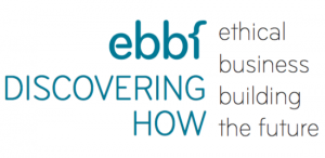 ebbf tagline Discovering How, ethical business building the future