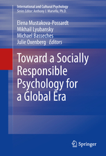 Book Cover: Towards a Socially Responsible Psychology for a Global Era