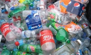 heap of plastic bottles