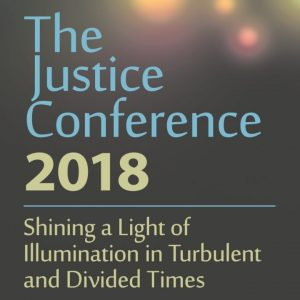 2018 Justice Conference flier