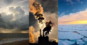 Climate change graphice - the diverse effects of climate change