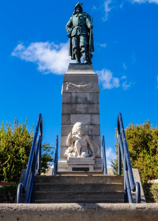 Update on Statue of Champlain and Mohawk Native American