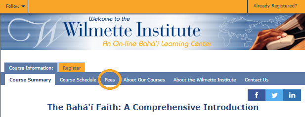 Tuition Support (Scholarships) – Wilmette Institute