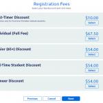 Screenshot showing First-Timer Discount