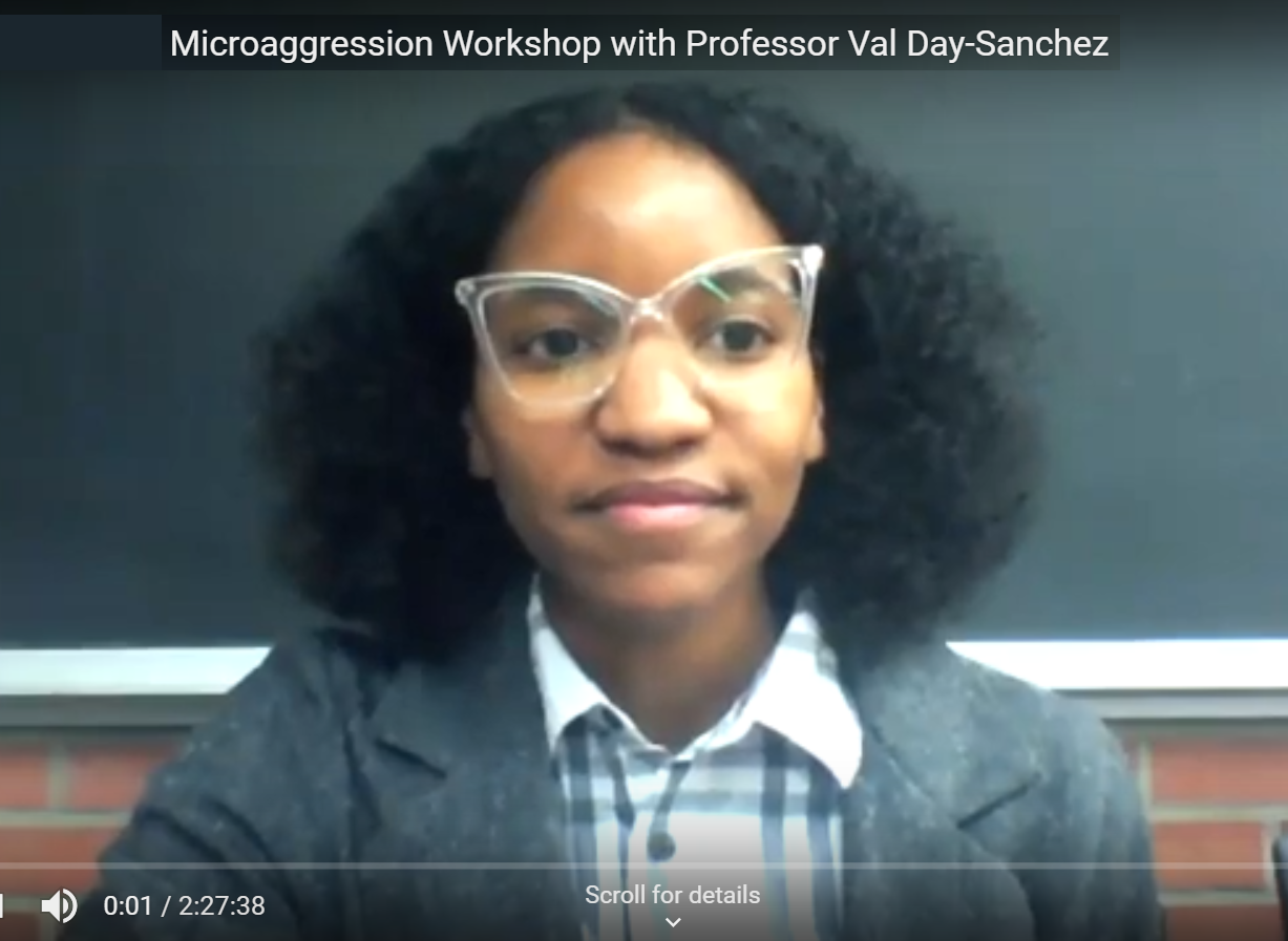 Breakthrough Online Workshop on Microaggression Result of Faculty-Learner Collaboration