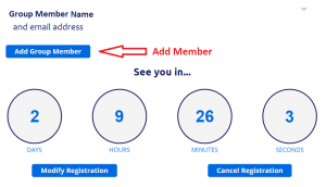 screenshot showing Add Group Member button