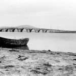 The bridge at Büyükçekmece, Turkey, which Bahá'u'lláh and His companions crossed on their way from Constantinople to Adrianople in December 1863. Image souce: Bahá'í Media Bank